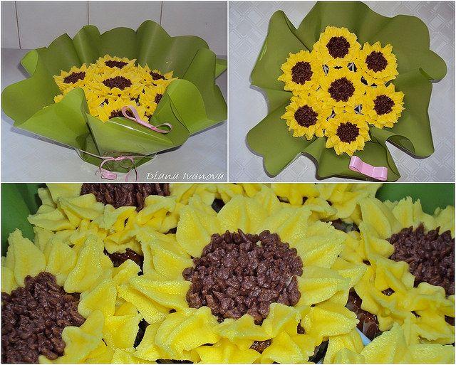 Muffins bouquet