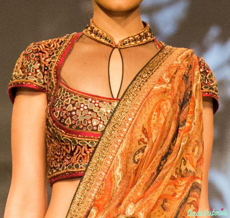blouse Tarun Tahiliani India Bridal Fashion Week 2014