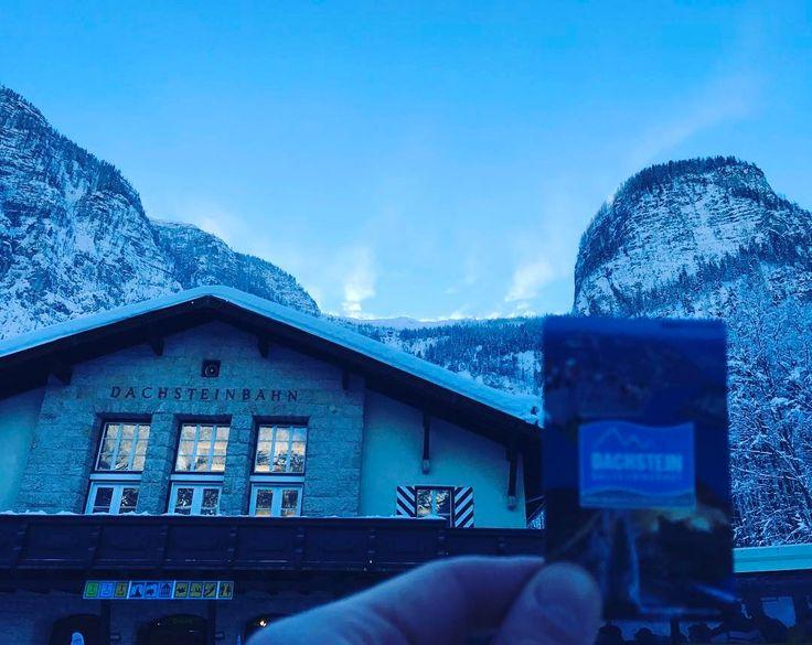 Впереди небольшой подъёмчик   #зима #австрия #альпы #мороз #снег #путешествие #travel #austria #winter #alpen #january #osterreich