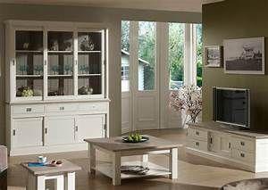 Tv Schrank Lowboard Im Landhausstil In Farbe Wei E. Black Bedroom Furniture  Sets. Home