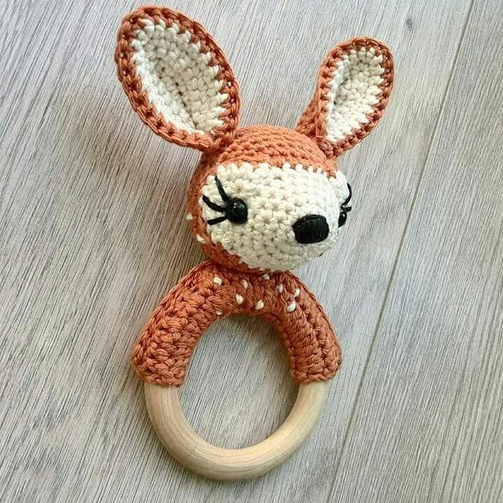 Amigurumi ciervo