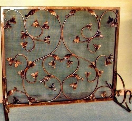 Victorian Fireplace Screen by Marteni & Bear on HomePortfolio