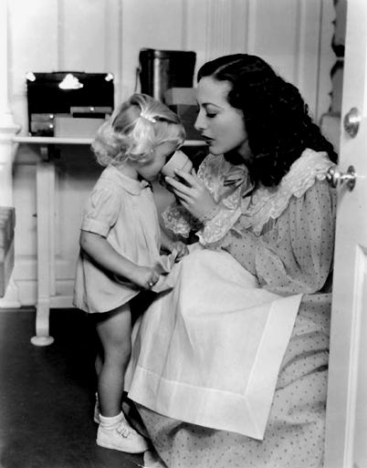 Joan Crawford and her namesake niece Joan.