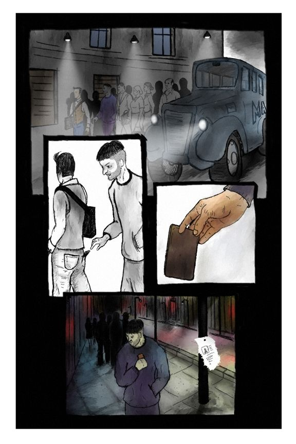 The Executioner - Preview 5 pages