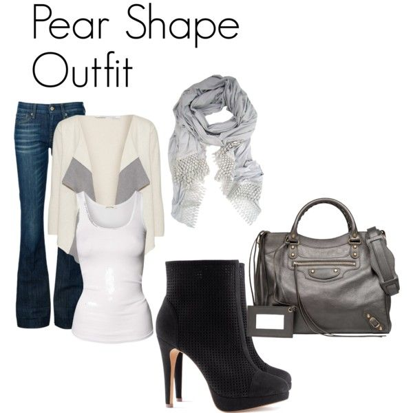 """""""Pear Shape Outfit"""" by tanyfashionista on Polyvore"""