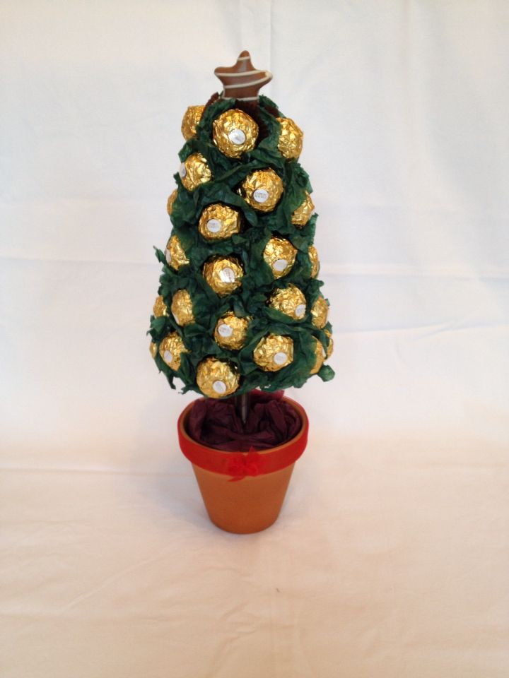 Ferro Christmas Tree created by Sabrina's Sweetie Trees
