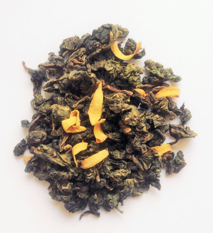 Orchid Oolong by Mighty Leaf Tea UK. Light florals and a coconut flavour.