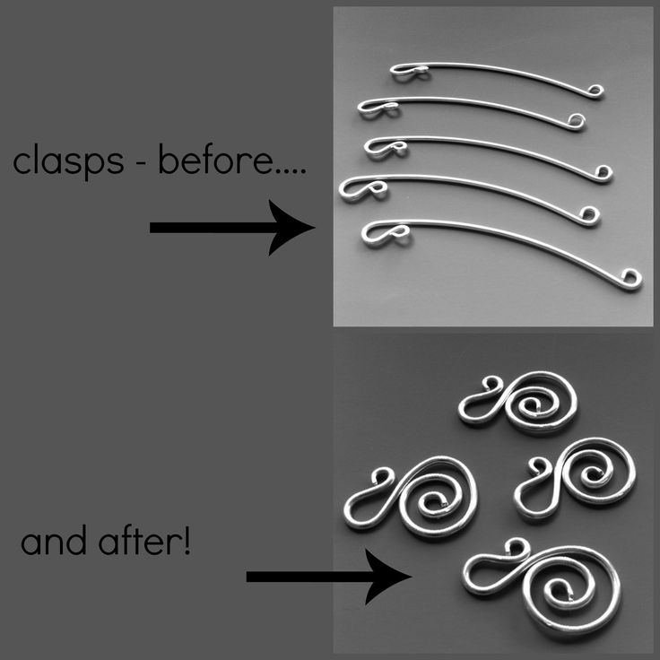 handmade jewelry; sterling silver clasps - used on all bracelets and necklaces. www.laurateague.com/bracelets.html