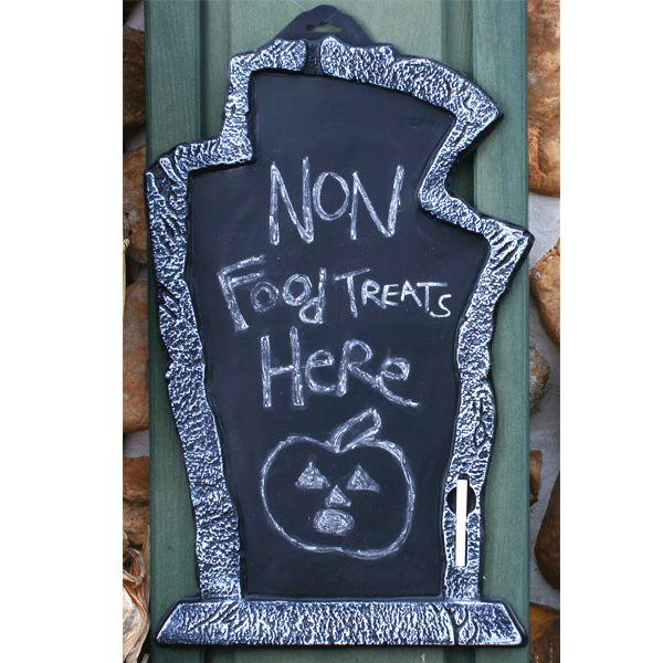 Best Tombstones Gravestones Images On Pinterest Factories - Cool chalkboard halloween decor