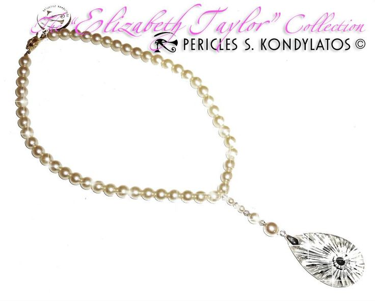 """The """"Elizabeth Taylor"""" collection by Pericles Kondylatos A collection inspired by Elizabeth Taylor"""
