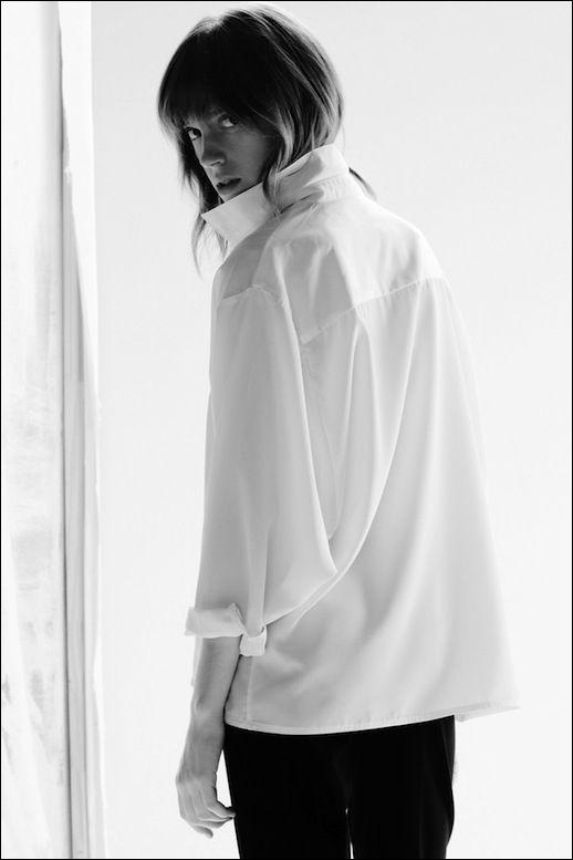 Lorca Studio Blanche Blouse / Classic White Shirt #style #fashion #minimal