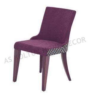 AS Koltuk Home Decor: For Sale - Purple Cafe Restaurant Chair