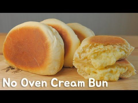 No Oven) Cream Bun  FOOD VIDEO  [스윗더미 . Sweet The MI]