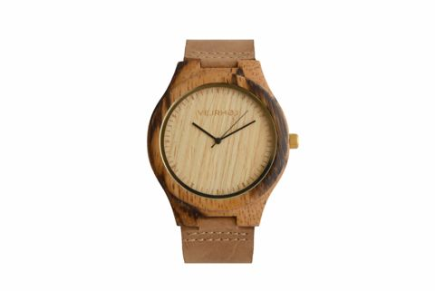 Nordic wooden watch by VEJRHØJ
