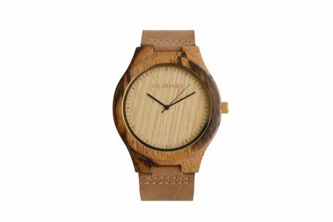 Nordic wooden watch by VEJRHØJ