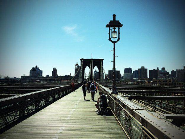 Summertime Activities in NYC With Kids - Walk over the Brooklyn Bridge
