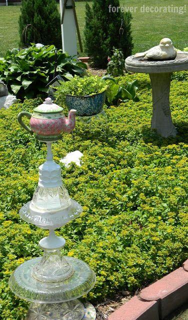 Forever Decorating!: Garden Whimsy & Fairy Garden