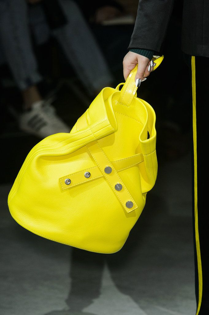You'll Want to Wear These Bags Right Off the Runway: Ready to meet the bags you'll be craving next Fall?