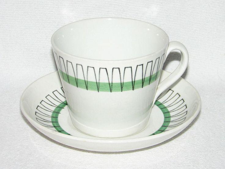 Gefle Pallas, grön, kaffekopp