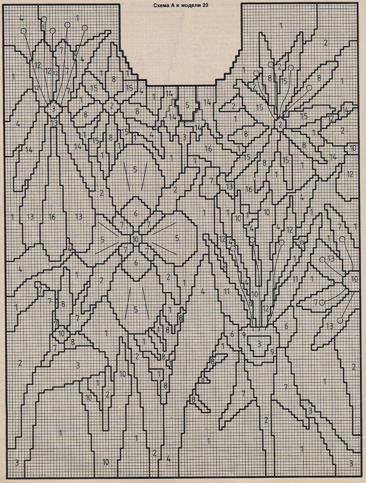 Эффектное жаккардовое вязание, джемперы и жакеты