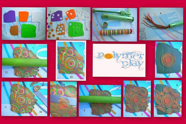 by Polymer Play, via Flickr  https://www.facebook.com/pages/Polymer-Play/235937233140849