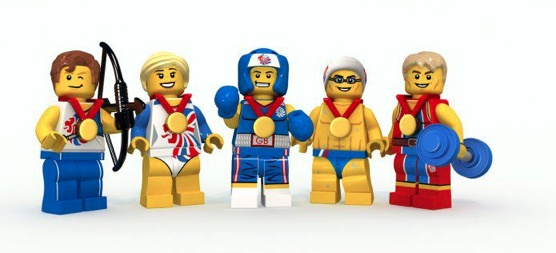 Lego. Team GB