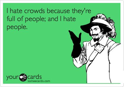 Image result for hate crowds