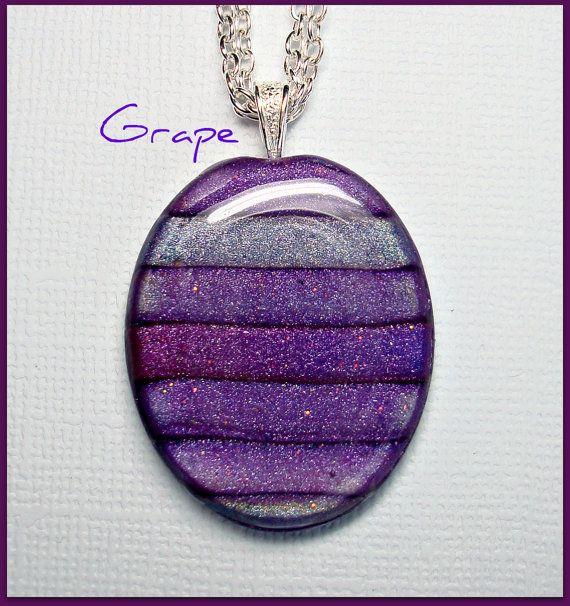 Grape-Violet-Heather Pendant