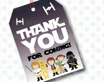 Personnalisés de Star Wars fête Party Favors par MySouthernAccent