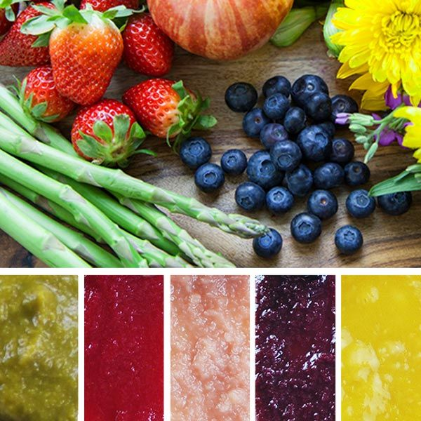 Fresh Colorful And Delicious These New Natural Organic Baby Food Flavors Were
