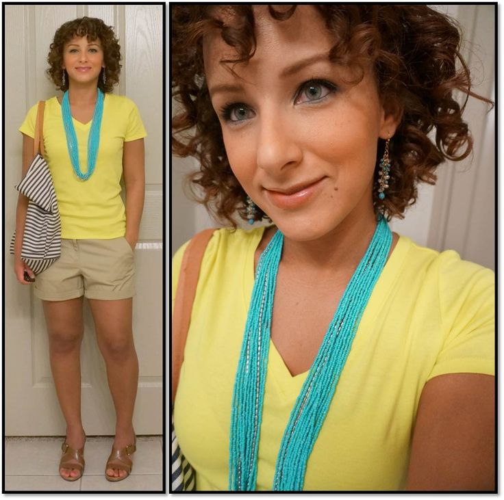 Day 6 shorts from j crew factory shoes from dsw necklace from