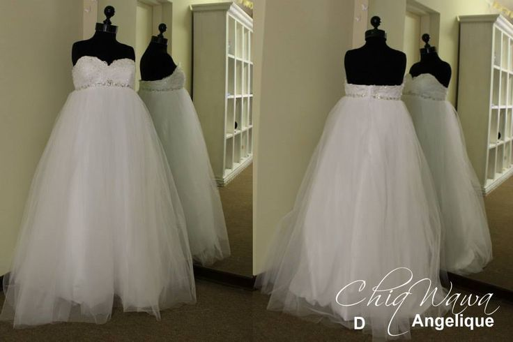 Perfect princess gown for a maternity wedding dress! #maternityweddingdress info@Chiqwawa.co.za Pretoria, South Africa