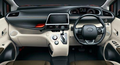 Salah satu yg tak kalah menonjol yaitu Toyota Sienta bertransmisi automatis yg telah di lengkapi 7-Speed CVT dgn Sequential Sportmatic.