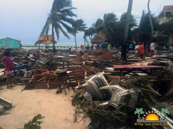 Hurricane Earl leaves a path of destruction on Ambergris Caye