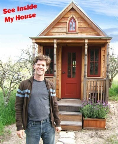 The original Tiny House architect, Jay Shafer of Sebastopol, CA. He sells plans for a range of tiny buildings (some on wheels) from 65 - 874 sq. ft.