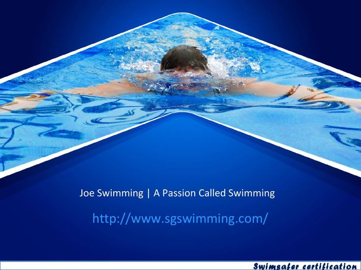 Swimsafer certification