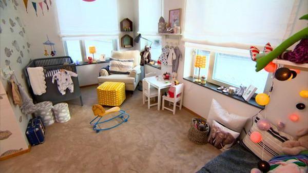 Habitacion del bebé con estilo sueco | Decoración Bebés y Habitaciones de Bebé