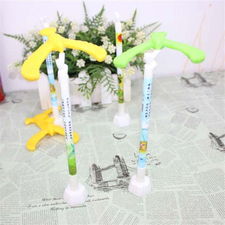 Gravity Balance Eagle Pens Standing Bird Gel Pen Korean Stationery Creative Caneta Papelaria Office School Supplies Sale Online