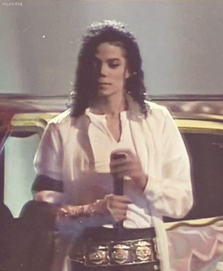 """MICHAEL JACKSON ♥ performs """"Will You Be There?"""" live at  the MTV 10th anniversary awards  show in 1991.   p.s. The answer is yeeessssss, Michael!!! ... for always and beyond eternity!!"""