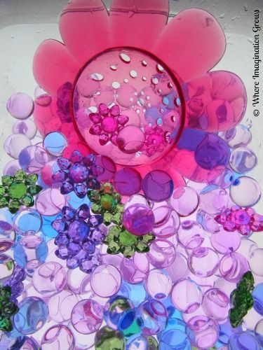 Spring Sensory Bin for Kids from Where Imagination Grows