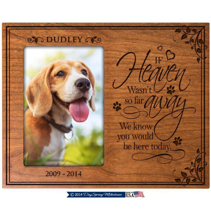 42 best Picture frames images on Pinterest | Cat memorial, Dog ...