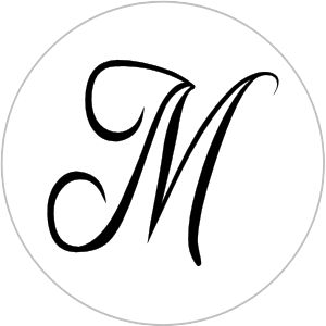 free monogram template - monogram letter wedding hershey kiss sticker label non