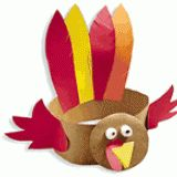 Turkey Hat for kids..looks like something we used to make in grade