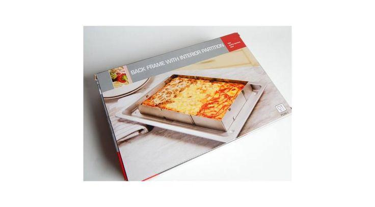 Szögletes állítható sütőforma felezővel - Sütőforma - Süss Velem Cukrász webshop - cukrász kellékek, cukrász eszközök, sütési kellékek