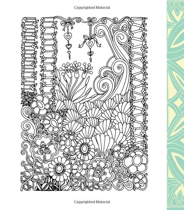 Color Me Stress Free Nearly 100 Coloring Templates To Unplug And Unwind A