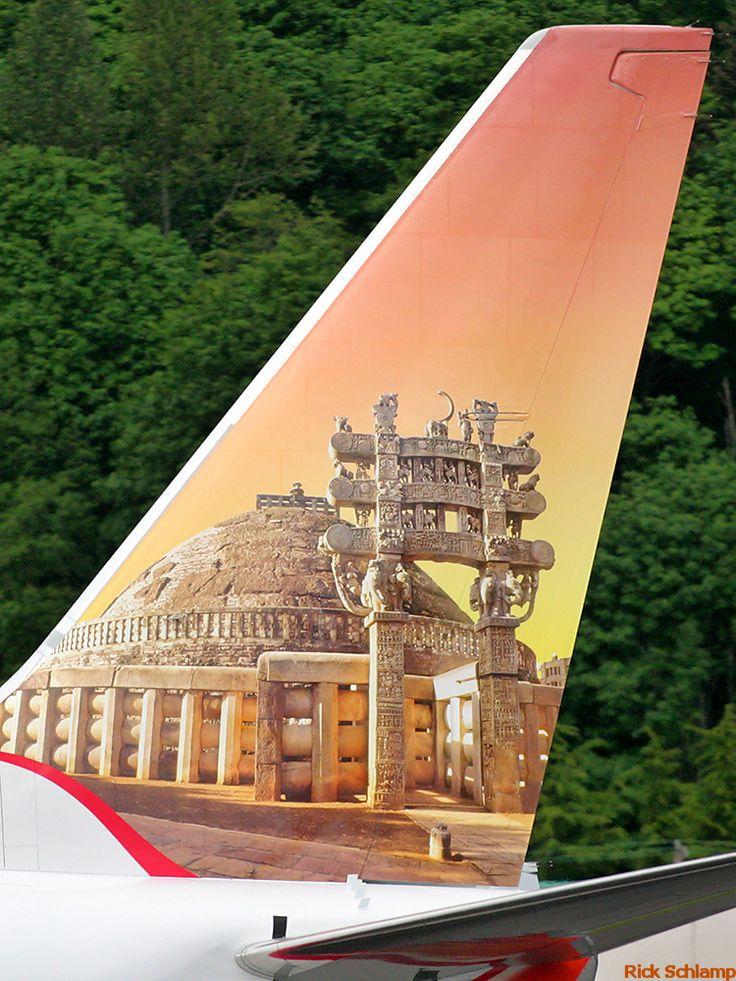 Air India Express Boeing B737-800 (Great Stupa at Sanchi)