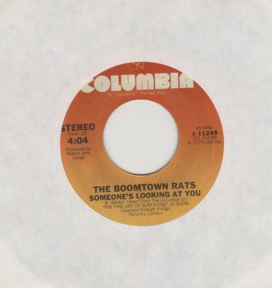 The Boomtown Rats - Someone's Looking At You / I Don't Like Mondays (recorded live)