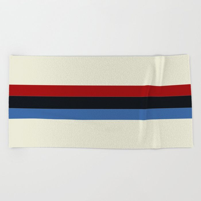 Cotton Beach Towel Stripes Striped