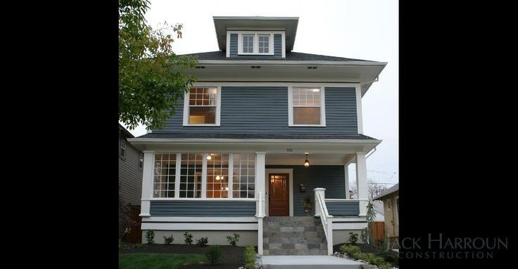 93 best images about american foursquare homes on for American remodeling