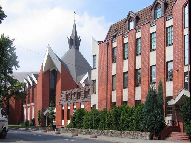 #Szczecin - #kościół i #klasztor dominikanów (fot. Woti).
